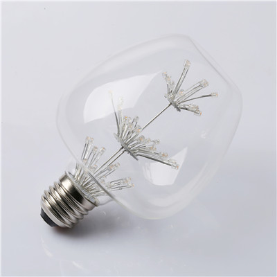 Indoor Apple-S LED all stars dimmable filament bulb