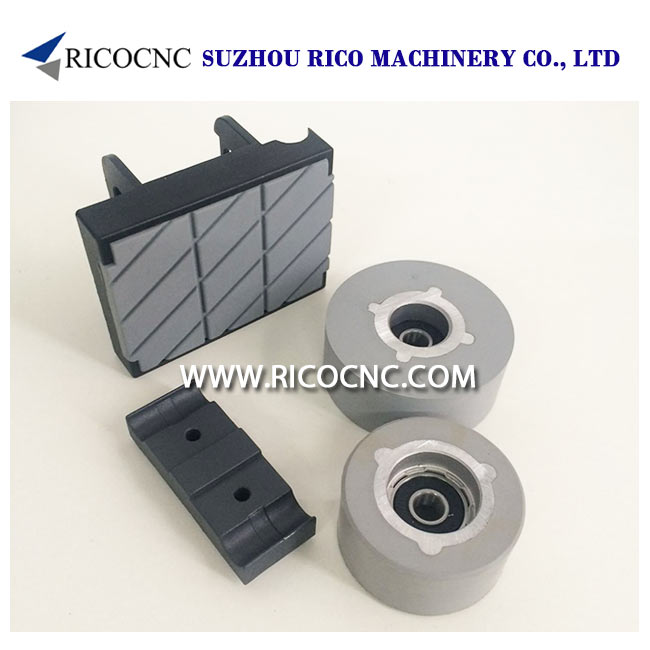 SCM Pressure Wheels CNC Chain Pads for Edgebanding Machine
