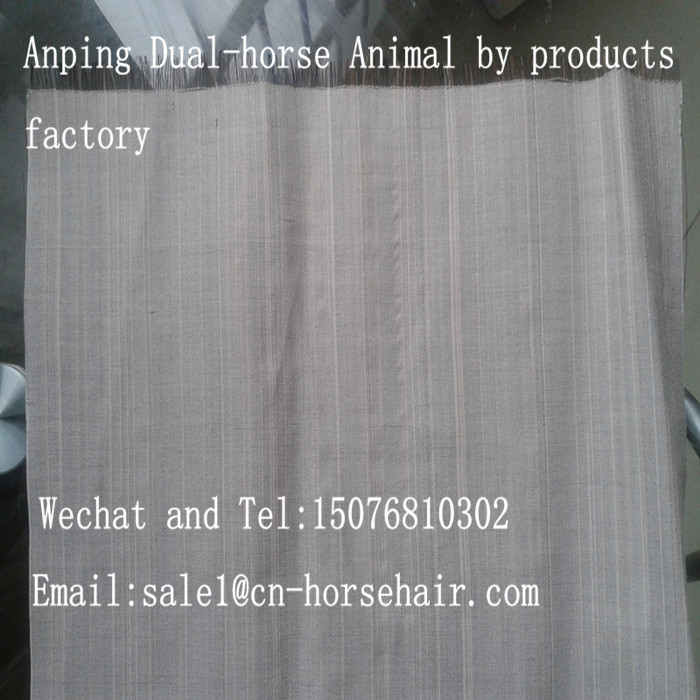 horse hair fabric for decoration