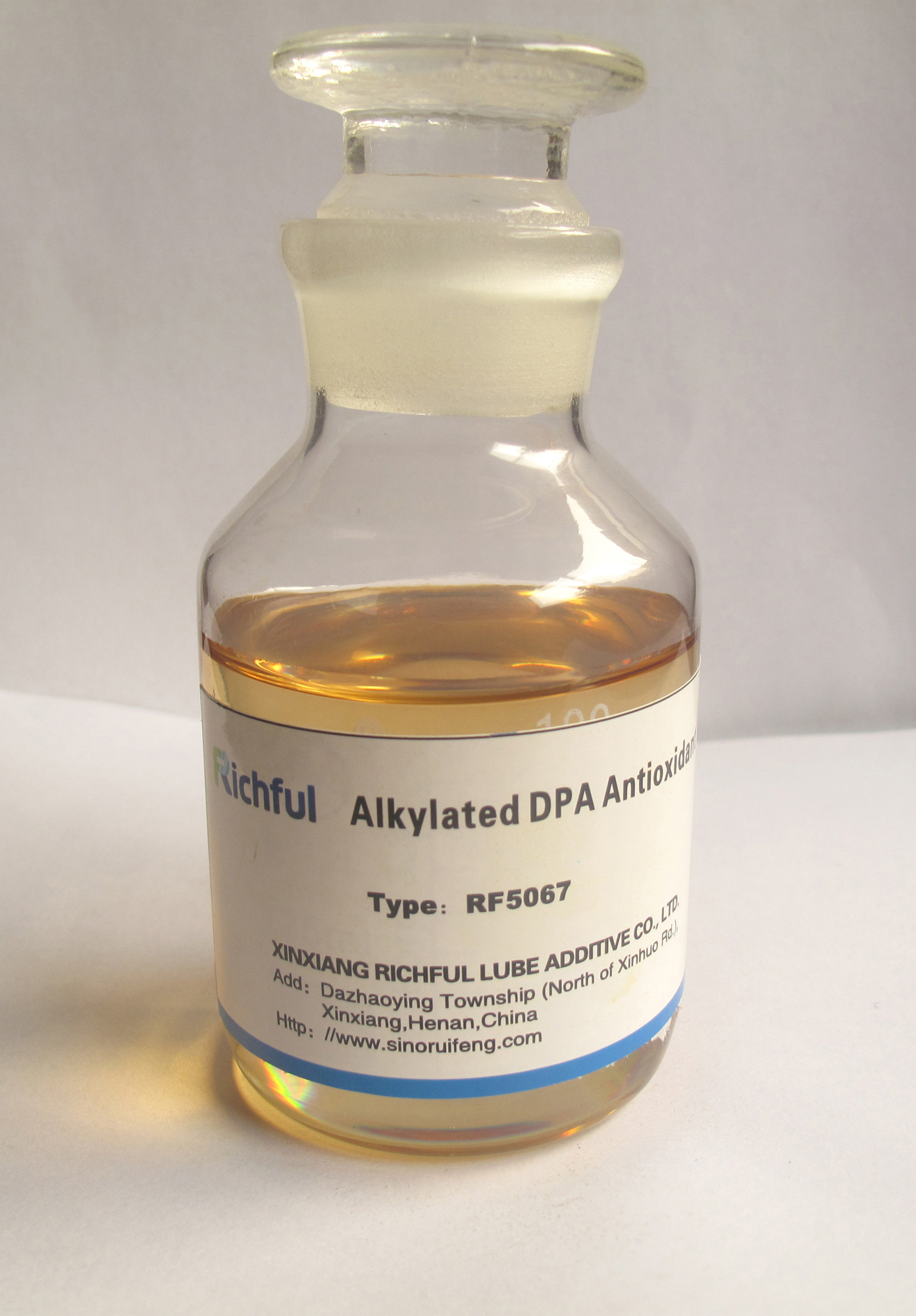 High temperature Antioxidant Richful Lubricant Additives High temperature Antioxidant Dinonyl Diphenylamine RF5067