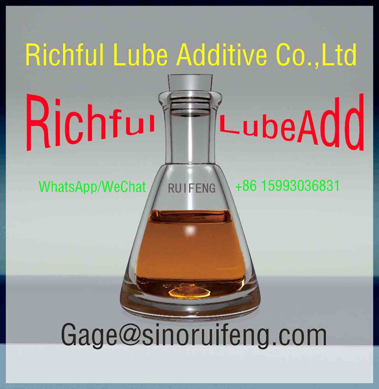 Gasoline Engine Oil Package API SG Richful Lubricant Additives RF6141