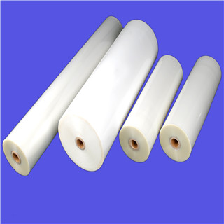 27mic / 32mic anti scratch glossy  PET/PE or PET/EVA laminating roll film