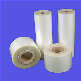 38mic transparent glossy flat PET/PE or PET/EVA laminating roll film