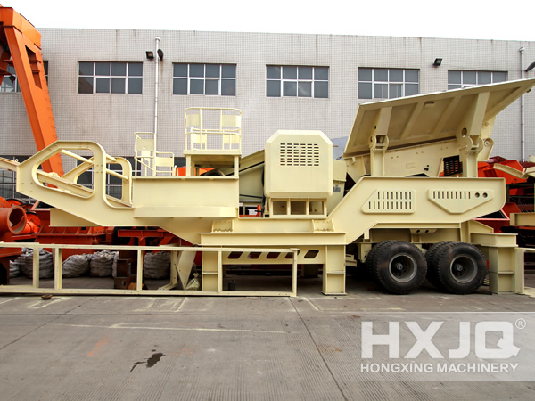 working process of hongxing stone crushing The stone crushing plant which is also called sandstone production used in the process of mobile composition and working.