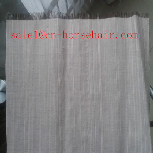 horsetail hair fabric
