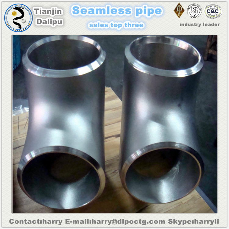 Stainless Steel Weld Long Tee pipe fitting ss316l tee