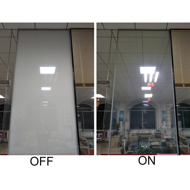 Smart Switchable Glass for building