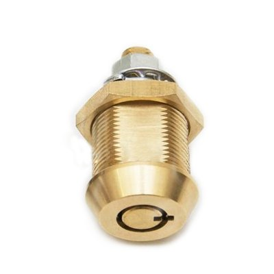 Tubular Cam Lock, Brass Cylinder, Key Combination 10000