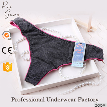 fashional elegant colorful womens g string panties for sale