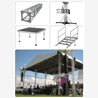 Aluminum Truss And Stage SysteLed Screen Steel Structure qu