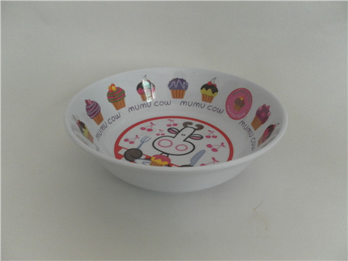 hot sale custom decal printed plastic melamine 7 : custom plastic dinnerware - pezcame.com