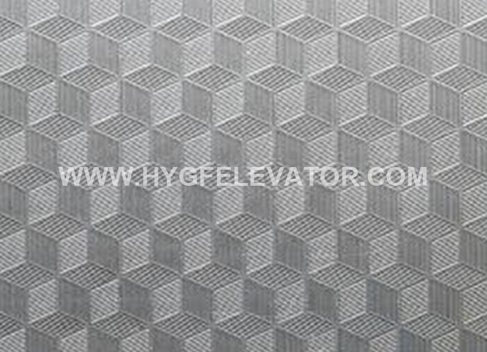Cube Pattern Stainless Steel Embossed Colour Sheet`