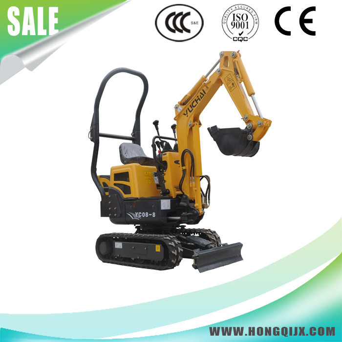 High efficiency Chinese manufacturer yuchai mini excavator with good price for sale