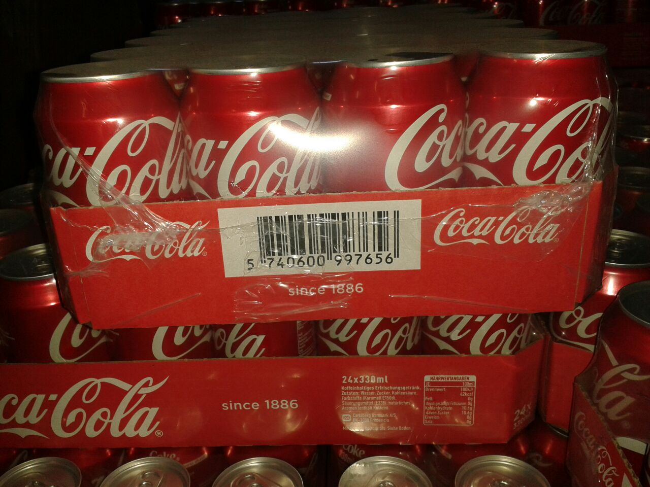 Coca Coca  ENERGY DRINKS 250ML