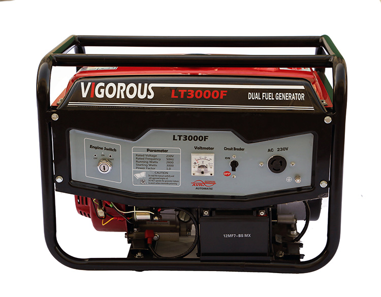 3000 Watts Rugged Frame OHV Engine Driven Gasoline Generator