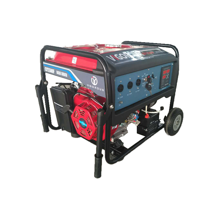 Easy to Carry Electric Start 5000 Watts Gasoline Powered Generator