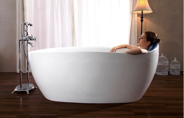 Luxury Acrylic bathtub with seat