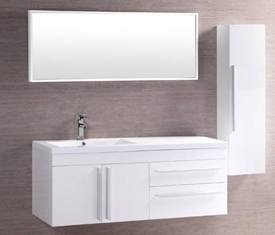 Stainless Steel MDF Bathroom Cabinet