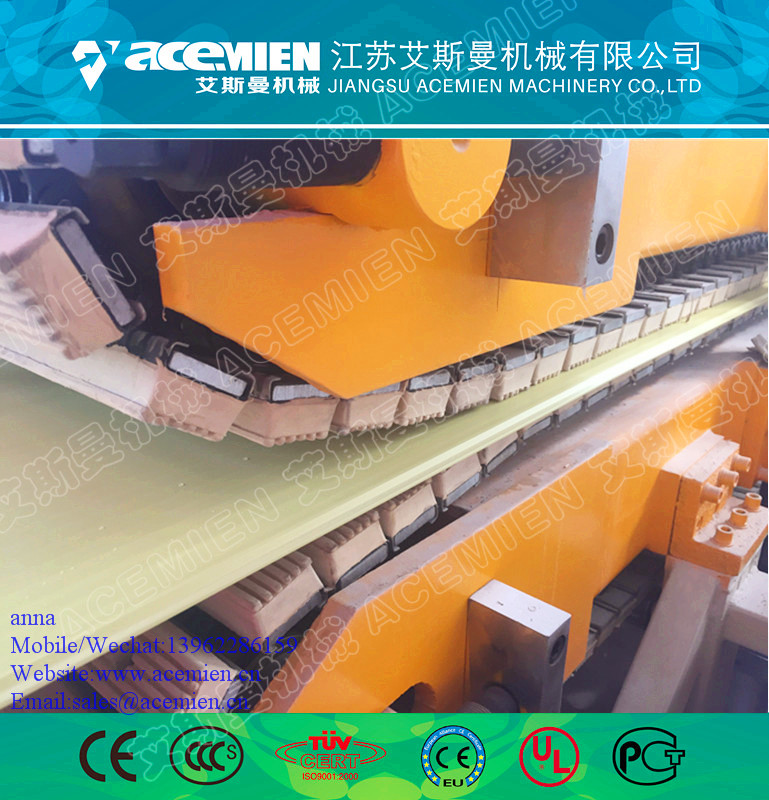PVC plastic ceiling panel wall board extruding machine line