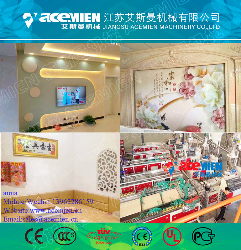 Plastic PVC ceiling panel/wall board/profile extrusion line