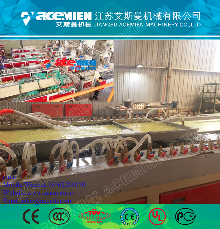 PVC plastic plate wall panel manufacturing machine