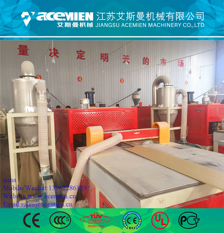 Plastic pvc profile machine/plastic panels for walls