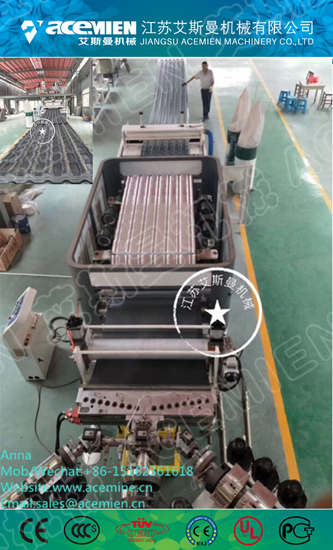 Glazed tile building material metal sheet cold forming machine