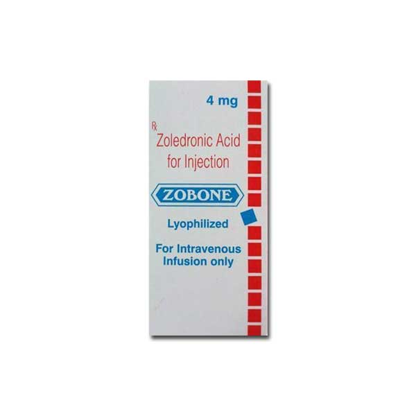 Zobone 4 mg Zoledronic Acid Injection at affordable Price
