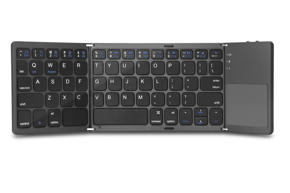 Folding BT Keyboard with Touchpad