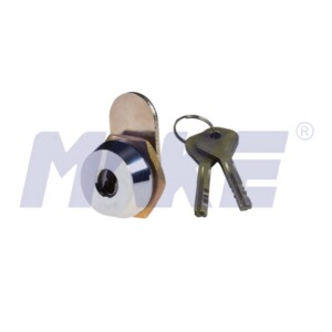 Shorter Disc Detainer Cam Lock, Brass, Different Key Type Options