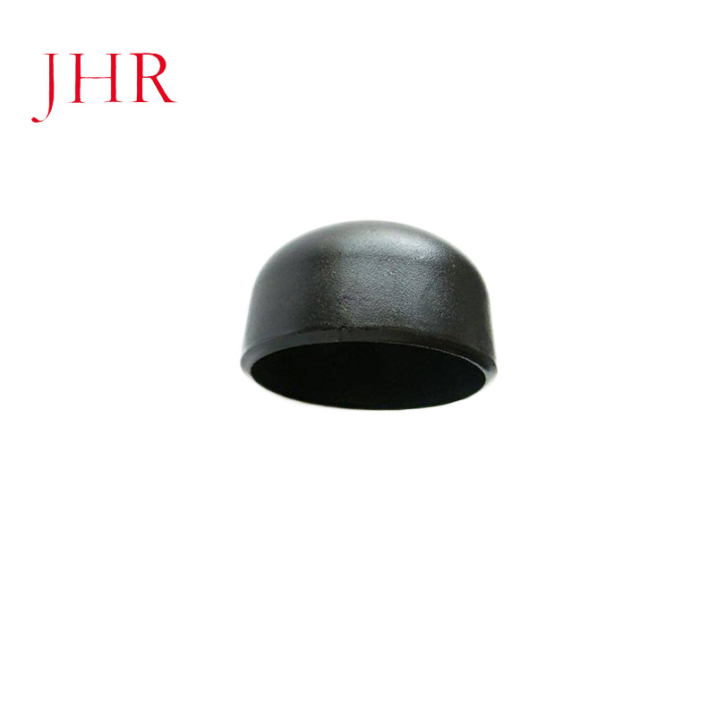Carbon steel pipe cap fitting dish end