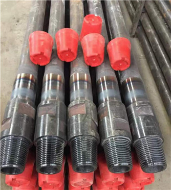76mm Water well drill pipe  with API 2 3/8REG  thread