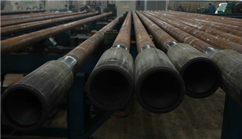 102mm Water well drill pipe with API 2 7/8REG thread