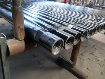 89mm DTH drill pipe  with API 2 3/8REG  thread