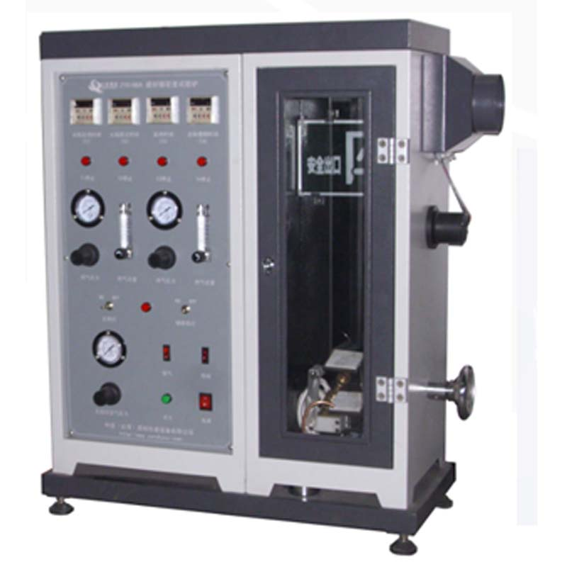 Building material decomposition smoke density testing machine