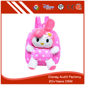 Plush Rabbit Children's Backpack
