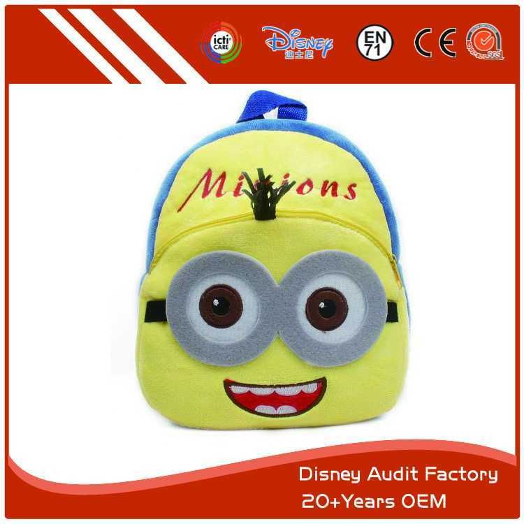 Plush Minions Backpack