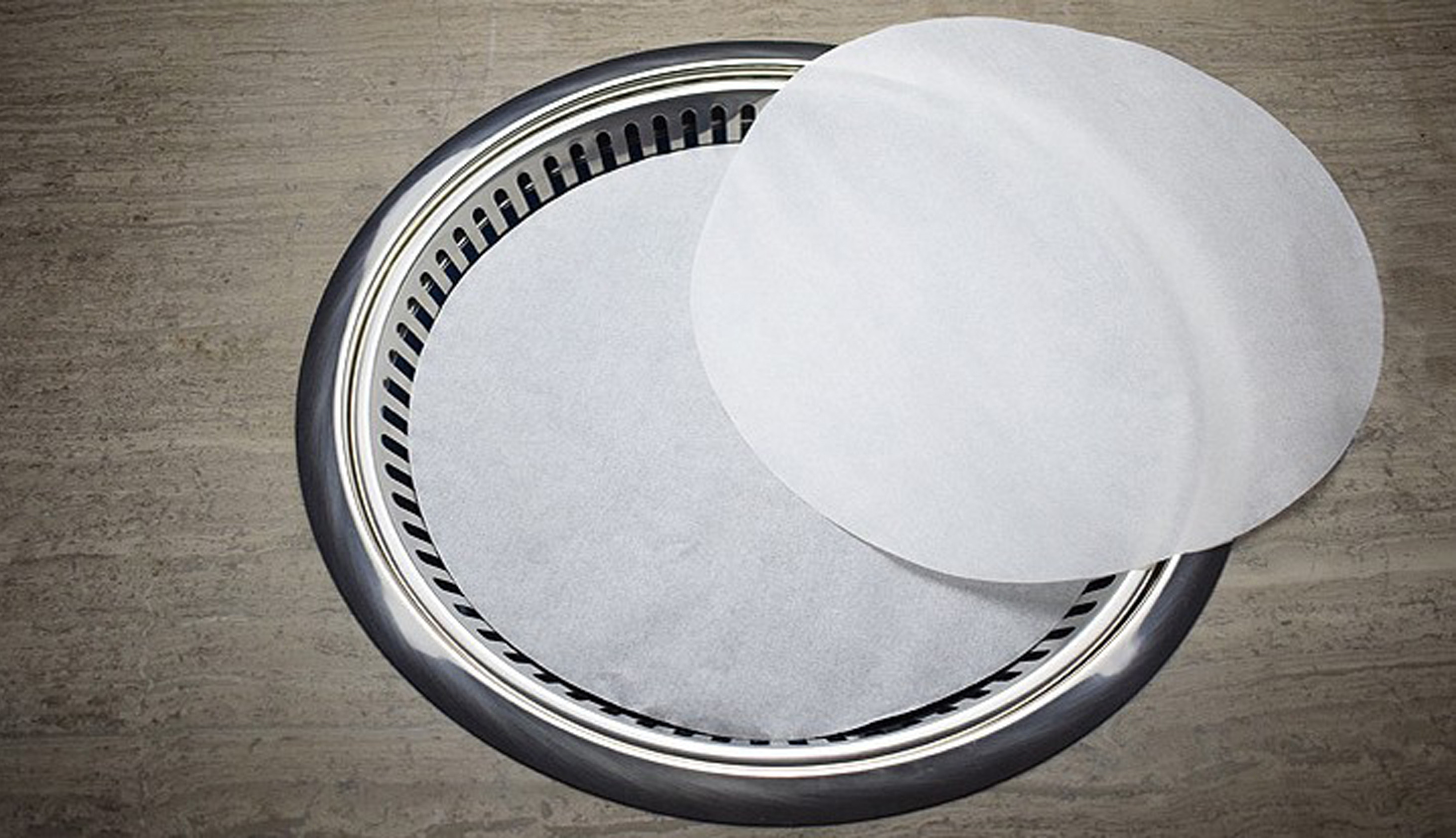 High temperature baking Circular food grade Silicone oil paper factory