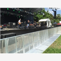 Aluminum Stage Truss System, preferred CROWD BARRIER