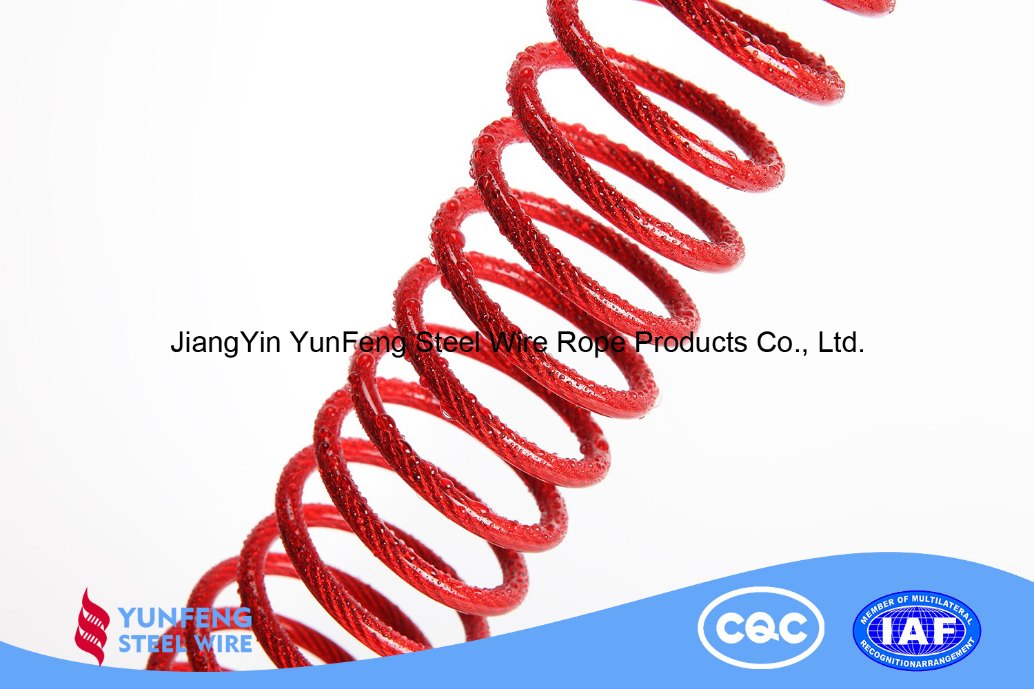 high quality nylon coated 316 stainless steel Wire Rope