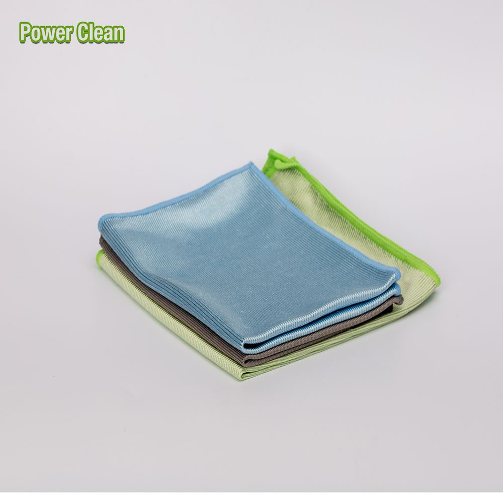 Silk Lint Free Microfiber Glass Cloth For Cleaning Glass,Window, Car Window