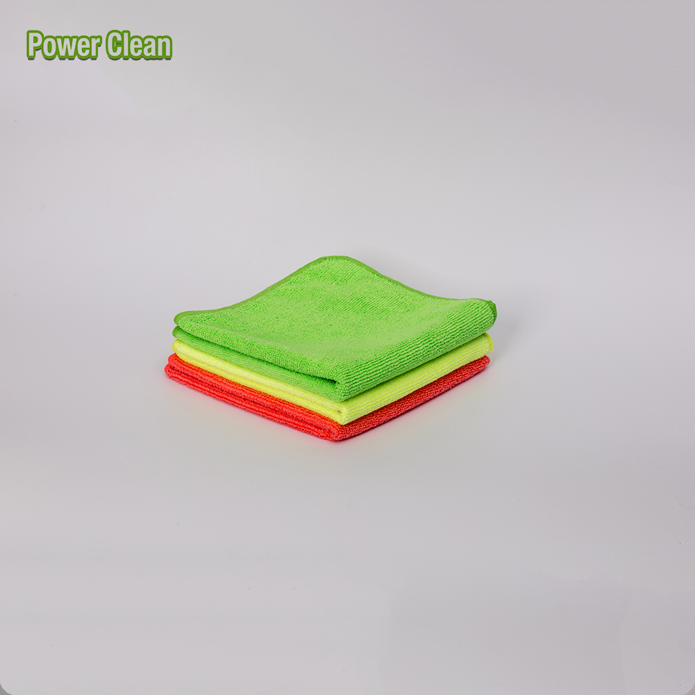 Super Absorbent Antibacterial High Quality Microfiber Terry Cleaning Cloth