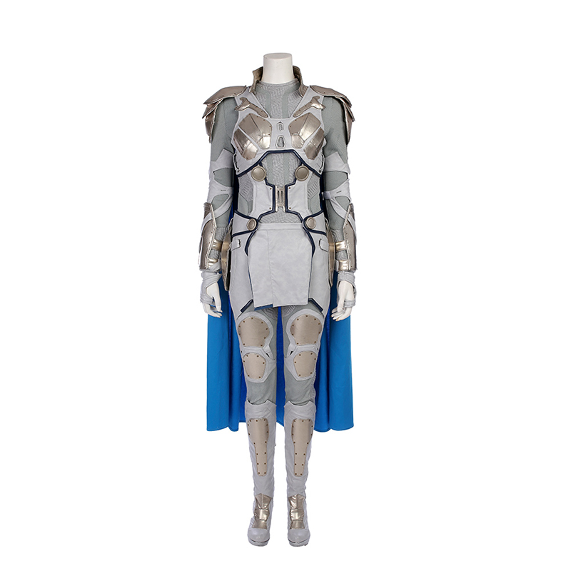 Movie Thor Ragnarok Valkyrie white Cosplay Costume Halloween Costumes Full Set Outfit Custom Made
