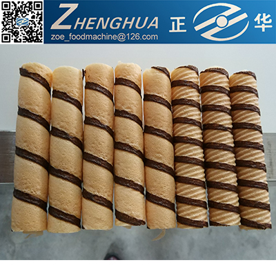 Shanghai wafer stick egg roll production line/ chocolate wafer stick making machine/ wafer line