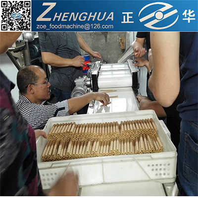 home business automatic wafer roll stick production machine supplier