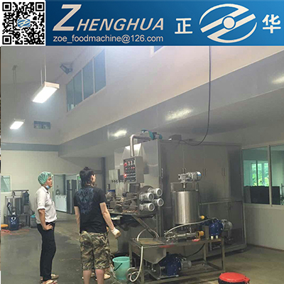 New style egg roll filling machine/wafer egg roll machine with in snack machines