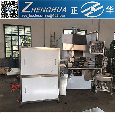 ZH2000 double lines Egg roll roller plant building/electrical or gas heated