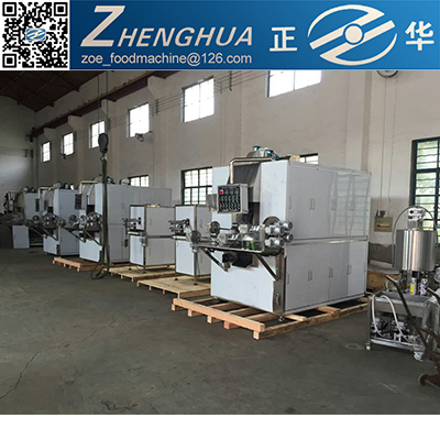Fully automatic Egg roll roller machine/complete plant building