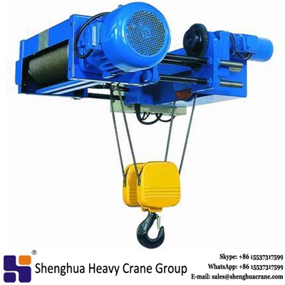 low price low headroom workshop wire rope electric hoist