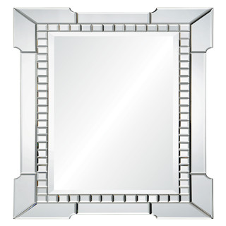 Rectangular arrow devorative wall mirror for livingroom/bathroom/dining room